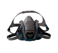 3M Rugged Comfort Half Facepiece Reusable Respirator 6500 Series with Quick Latch