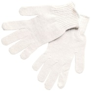 Regular Weight String Knit Cotton Gloves