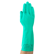 13-Inch Green Nitrile Gloves