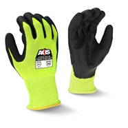 Axis Hi Viz Cut Level A4 Gloves