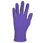 Powder Free Purple Nitrile Gloves