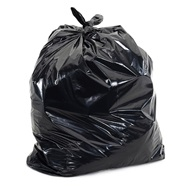 55-Gallon Black Trash Bags