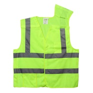 Class 2 Lime Mesh Breakaway Safety Vest