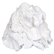 Lint-Free White T-Shirt Wiping Cloths