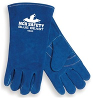 MCR Blue Beast Welders Gloves