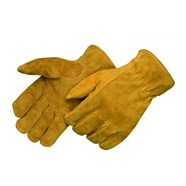 Pile Lined Leather Drivers Gloves
