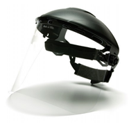 Pyramex Polyethylene Face Shield