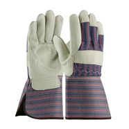 Top Grain Cowhide Leather Palm Gloves