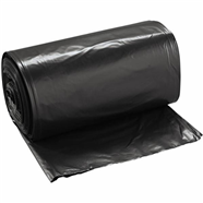 45-Gallon Black Trash Bags