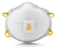 3M N95 Particulate Respirator with Nuisance Level Acid Gas Relief