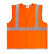 Class 2 Orange Safety Vest