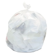22 Micron Clear Trash Can Liners