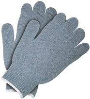 Heavy Weight String Knit Cotton Gloves