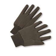 Standard Brown Jersey Gloves