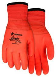 Ninja Ice Orange HPT Fully Coated Terry Lined Gloves