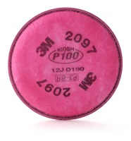 3M P100 Particulate Filter with Nuisance Level Organic Vapor Relief