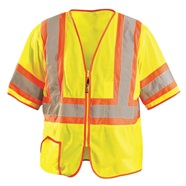 Class 3 Mesh Two Tone Safety Vest
