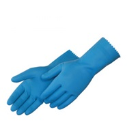 Blue Latex Canner Gloves