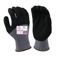 EXTRAFLEX Nitrile Three-Quarter Palm Coated Gloves