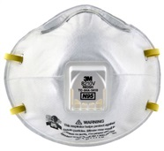 3M Comfort Plus N95 Particulate Respirator with Valve