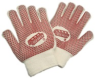Heavy Weight Terry Cloth Gloves with Nitrile Blocks