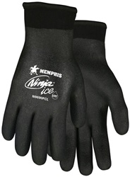 Ninja Ice Black HPT Fully Coated Terry Lined Gloves