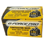 Heavy Duty Contractor Black Trash Clean-Up Bags