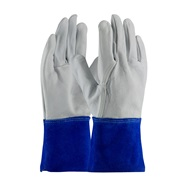 Goatskin Leather Mig Tig Welders Gloves