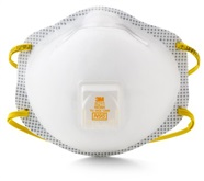 3M Comfort Plus N95 Particulate Respirator with Valve and Face Seal