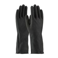 Flock Lined Unsupported Latex Gloves